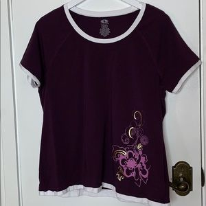 Athletic Works size XL purple top